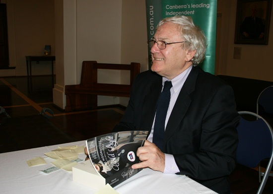 Frank Moorhouse Book Signing