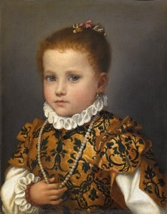 Portrait Of A Child Of The House Of Redetti