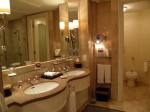 Four Seasons Hotel Bathroom