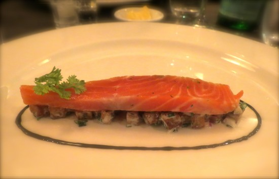 Olive Oil Poached Ocean Trout