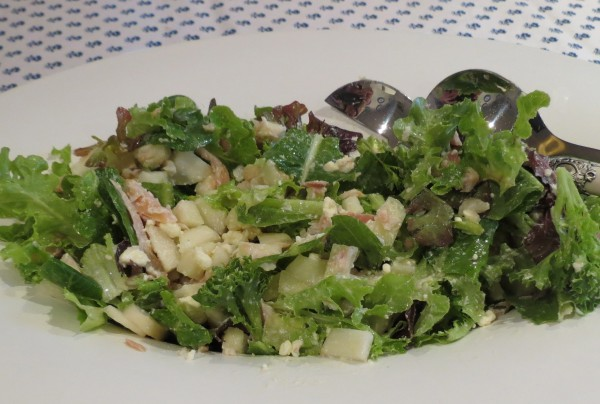 Smoked Trout and Pear Salad