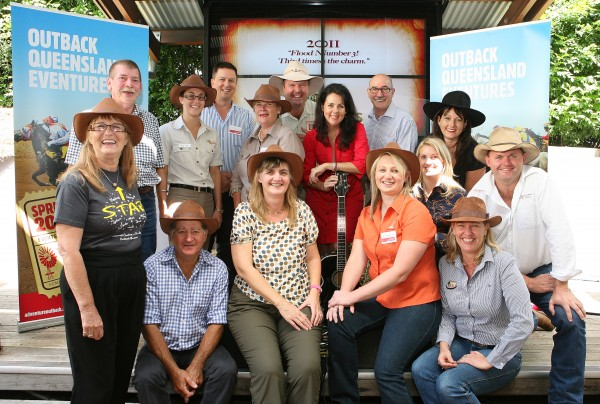 Tourism Queensland - Outback Queensland Eventures launch