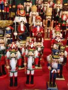 Nutcrackers, Nuremburg Christmas market, European River cruise
