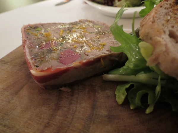 Duck And Prune Terrine, The Brasserie, Adelaide Hilton Hotel