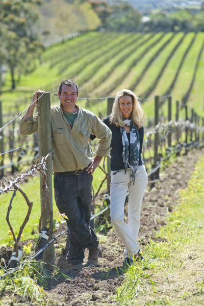 Joch Bosworth and Louise Hemsley-Smith, owners of Bosworth Wines and Spring Seed Wine Co