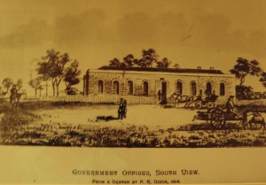 Government Offices, South Australia, 1839, now the Medina Grand Adelaide Treasury