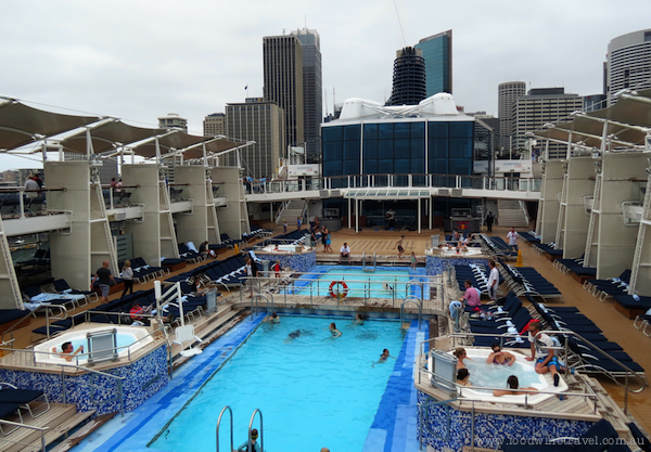Pool on Celebrity Solstice