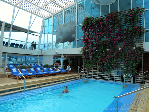 Pool on the Celebrity Solstice
