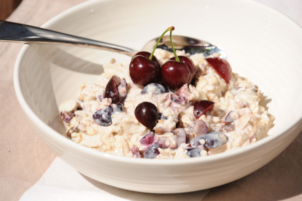 Cherry Bircher Muesli