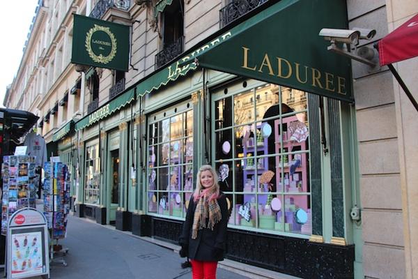 Café And Macarons In La Ville-Lumière