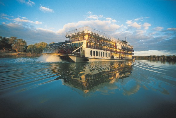 PS Murray Princess offers cruises on the Murray River for Captain Cook Cruises.