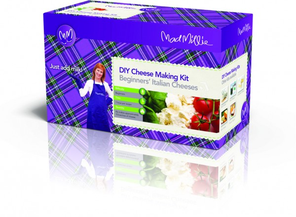 Win a Mad Millie Cheesemaking Kit