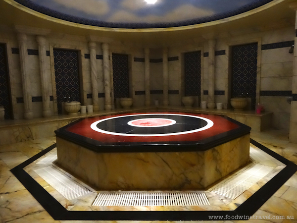 Turkish bath experience, Amman, Jordan