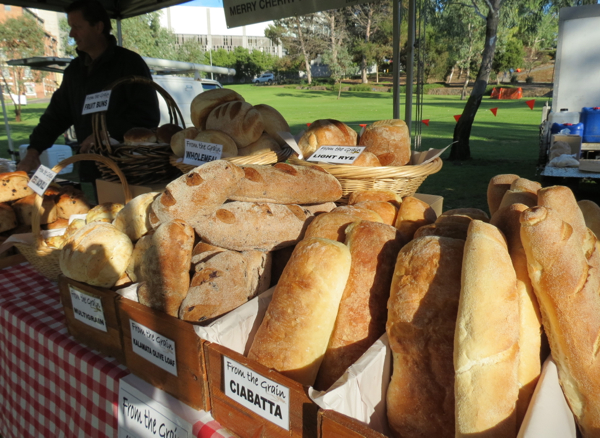 Murray Bridge Farmers Market, one of the stops on Captain Cook Cruises' Murray Princess cruise.