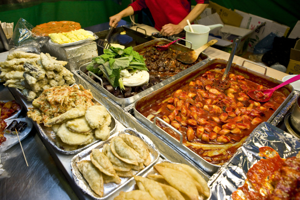 Top 5 Streets For Korean Food