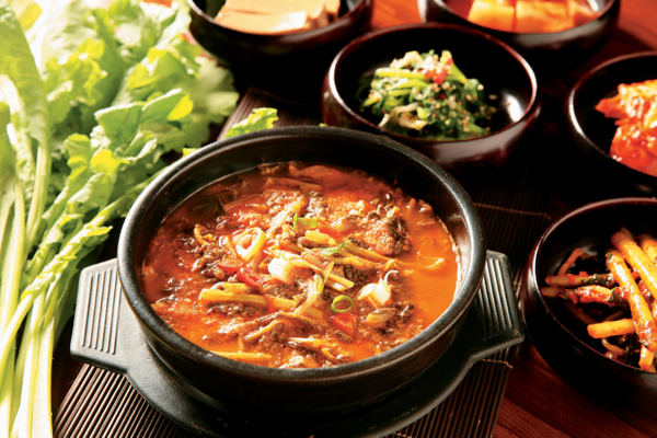 www.foodwinetravel.com.au Chueotang loach fish soup. Korea has five designated streets where you can get a great insight into the food and culture.