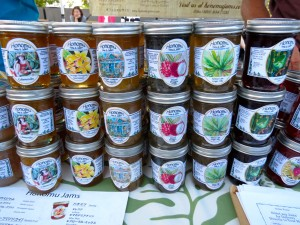 Honomu Jams. The farmers market at the Royal Hawaiian Centre in Honolulu, every Tuesday from 3pm to 7pm, has a great range of products that highlight Oahu's wonderful bounty.
