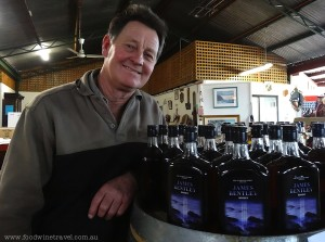 www.foodwinetravel.com.au Bluestill Distillery, Young NSW makes a range of whisky and other spirits.