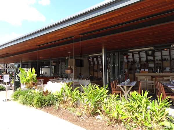 www.foodwinetravel.com.au The Jetty Restaurant, South Bank, Brisbane. Recipe for Nasi Goreng with Chicken Skewers and Peanut Satay, created by head chef Damien Styles.