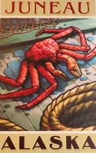 www.foodwinetravel.com.au Tracey's King Crab Shack, Juneau, Alaska. Celebrity Century cruise.