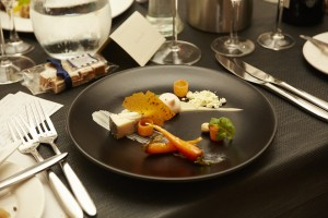 www.foodwinetravel.com.au Joery Castel is chef at The Boat House restaurant in Bangor, Northern Ireland. His brother Jasper Castel takes care of front of house. They have won numerous accolades from the Restaurant Association of Ireland for their creative food.