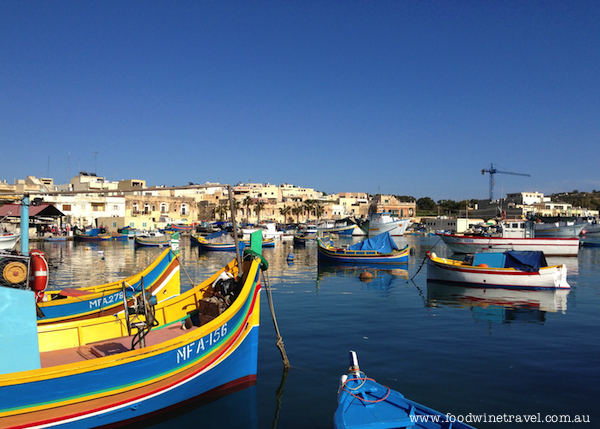 Marsaxlokk fishing village, Malta, Christine's top travel experiences for 2013, www.foodwinetravel.com.au