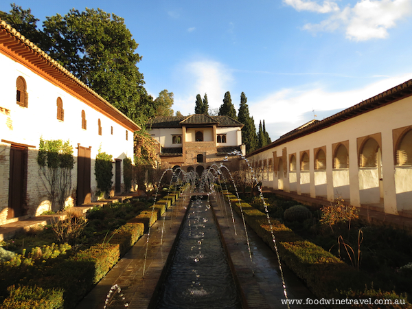 Alhambra, Granada, Christine's top travel experiences for 2013, www.foodwinetravel.com.au