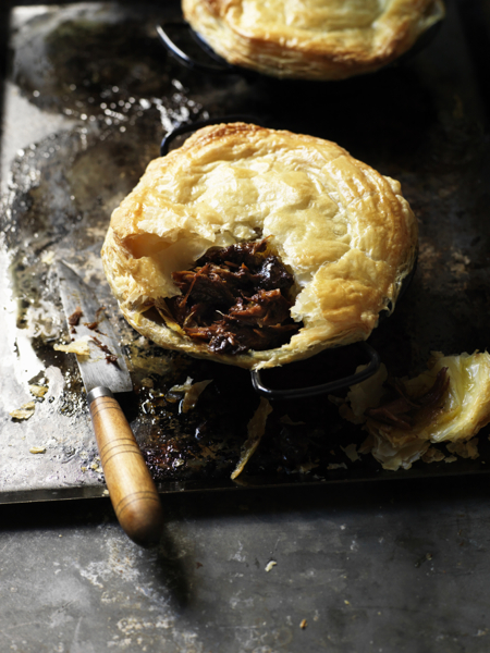 Lamb Shank and Prune Pies
