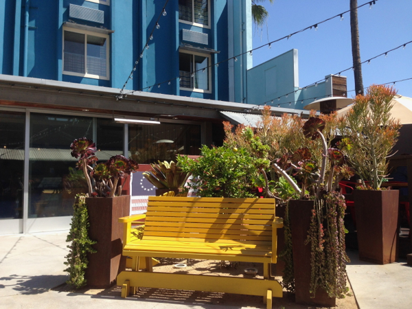 www.foodwinetravel.com.au The Farmer's Daughter, Los Angeles accommodation, hotels in Los Angeles, accommodation in Los Angeles, quirky LA hotels.