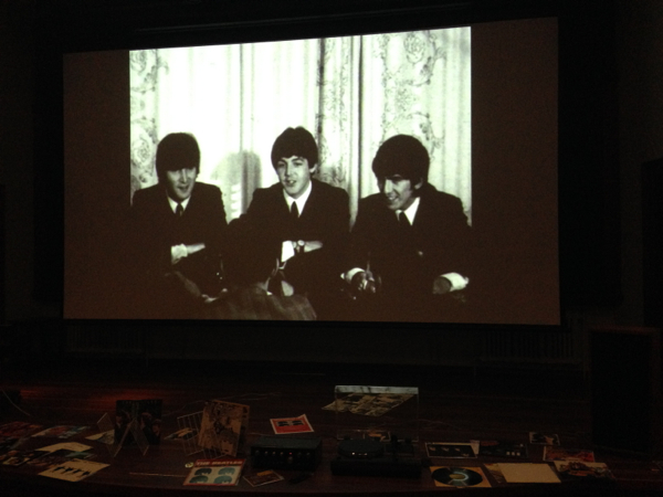 www.foodwinetravel.com.au The Vinyl Lounge, Arc Cinema, NFSA, National Film and Sound Archive, Canberra institutions, The Beatles,