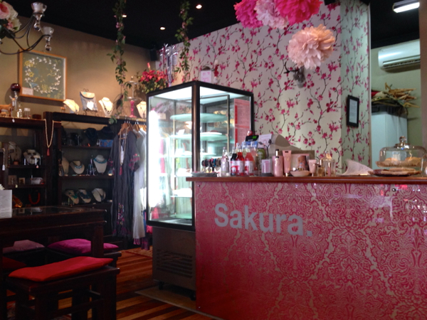 www.foodwinetravel.com.au Sakura Coffee and Tea House, Sandgate cafés,  black tea, white tea, oolong tea, green tea, jasmine tea, organic herbal infusions, Devonshire tea, where to have Devonshire tea in Brisbane, Stockholm blend of tea, Daintree vanilla.