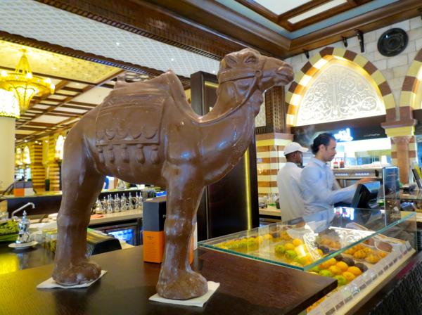 The Majlis Dubai: Camel Milk Café