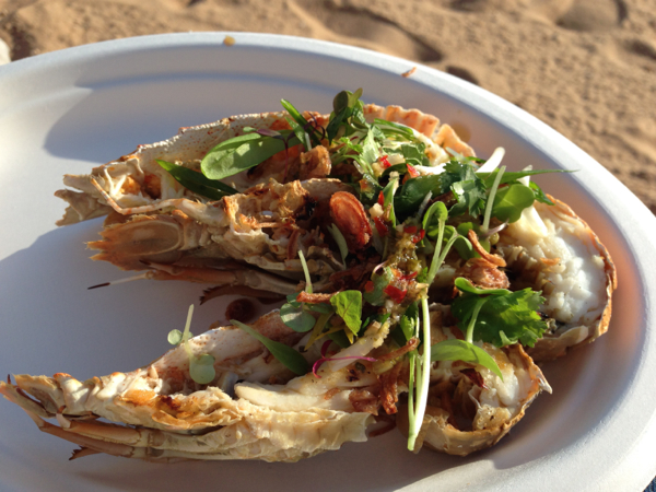 www.foodwinetravel.com.au, Bugs on the Bech, Rotary Club of Redcliffe, G20, Redcliffe peninsula,