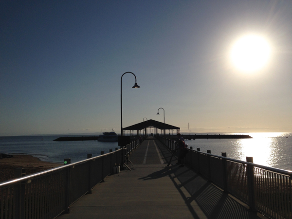Redcliffe Jetty, Bugs on the Beach
