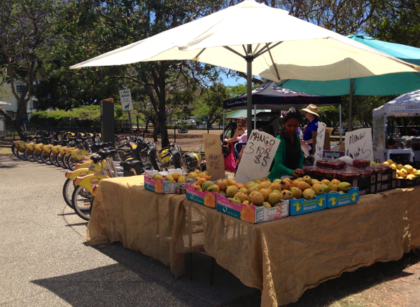 www.foodwinetravel.com.au, Jan Power's Farmers Markets, Brisbane markets, farmers markets in Brisbane, best Brisbane markets, food markets in Brisbane,  Rufus King Seafoods, Bauer's Dutch cream potatoes, Suncoast lime cordial, French Sin, market in Queen Street Mall, market in Manly, market in Mitchelton, farmers market opening times.