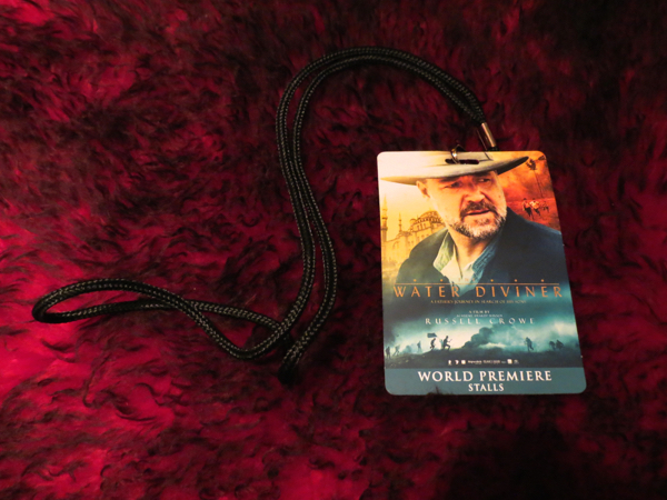 The Water Diviner world premiere