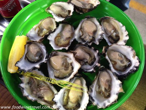 R J Terry Oysters | Old Bus Depot Markets
