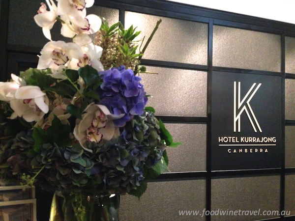 Hotel Kurrajong, TFE Hotels, where to stay in Canberra, best Canberra hotels, food wine travel, Christine Salins.