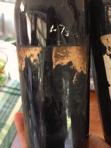 Tasting old wines, 1973 Hardy's Private Bin Claret Bin No 635, what should old wines taste like, Mountain Creek Farm, Slow Food, Michael Croft, Food Wine Travel, Christine Salins, Hardy's wines, old Hardy's wines, Wiltshire mutton.