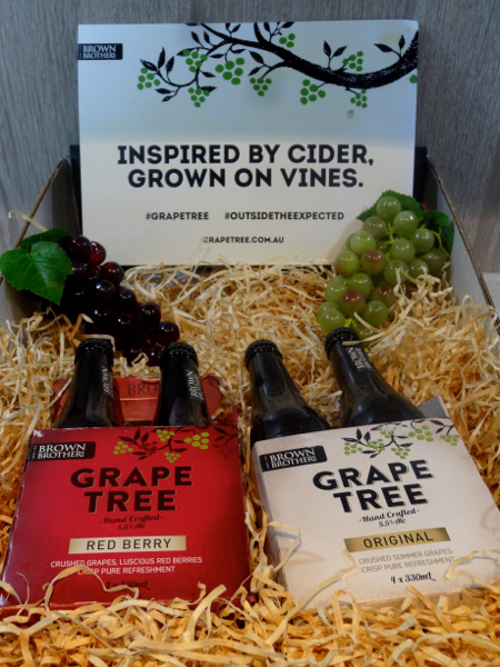 Inspired By Cider: Brown Brothers Grape Tree