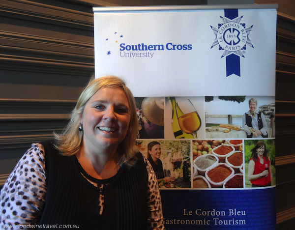 www.foodwinetravel.com.au, Master of Gastronomic Tourism, Southern Cross University, Le Cordon Bleu, Sophie Mibus, Esquire restaurant, Tawnya Bahr.