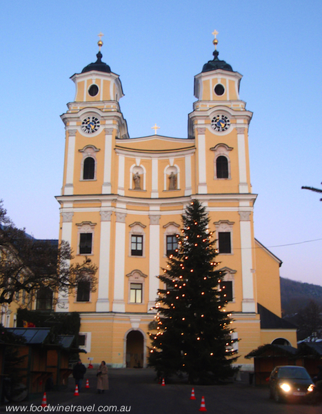 St. Michael's Church, Mondsee, Austria, setting for wedding in The Sound of Music.