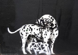 www.foodwinetravel.com.au, Street art, Surry Hills, Sydney.