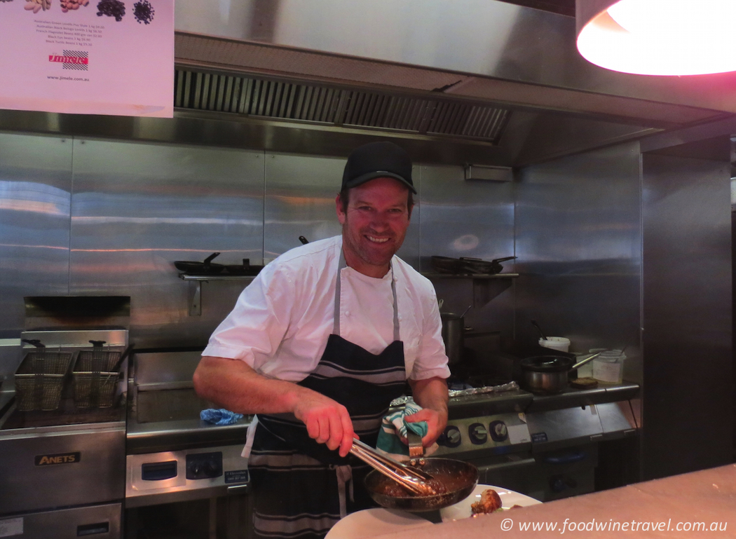 Ben O'Donoghue cooks a special Let's Do Lunch menu at Billy Kart Kitchen at Annerley for Good Food Month.