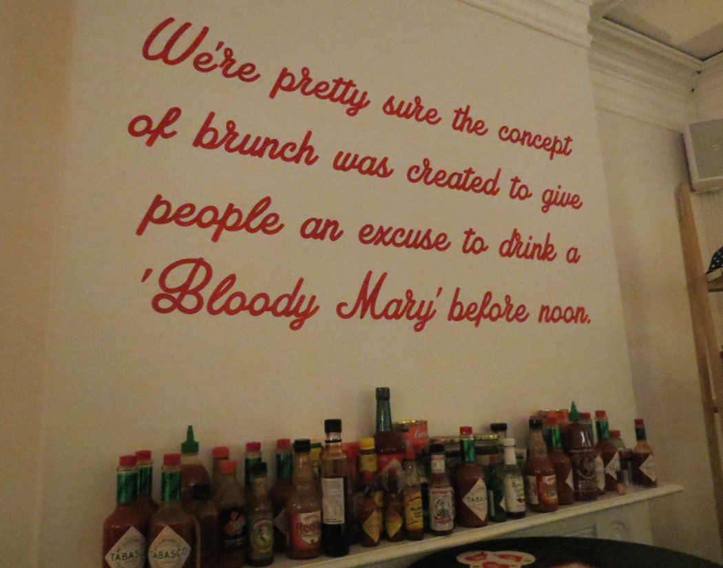Bloody Mary's on Victoria Street in Darlinghurst is open for breakfast, lunch and dinner seven days a week.