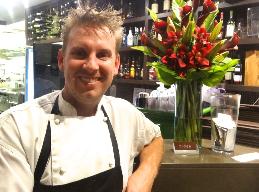 Michael Mulhearn, owner/chef of Tides Restaurant, Caloundra.