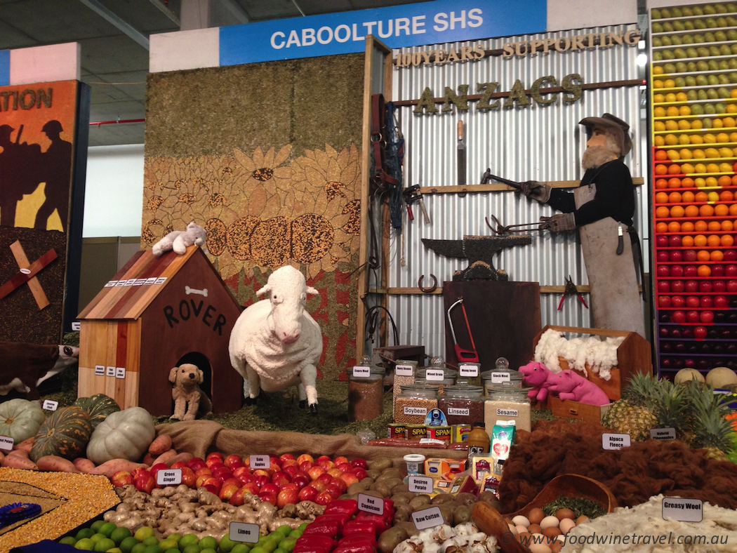 Ekka, Royal Queensland Show Agricultural Display Caboolture State High School