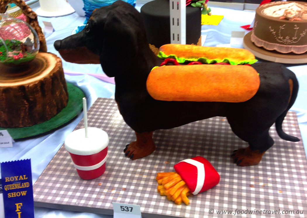 Ekka, Royal Queensland Show Cake Decorating Sausage Dog
