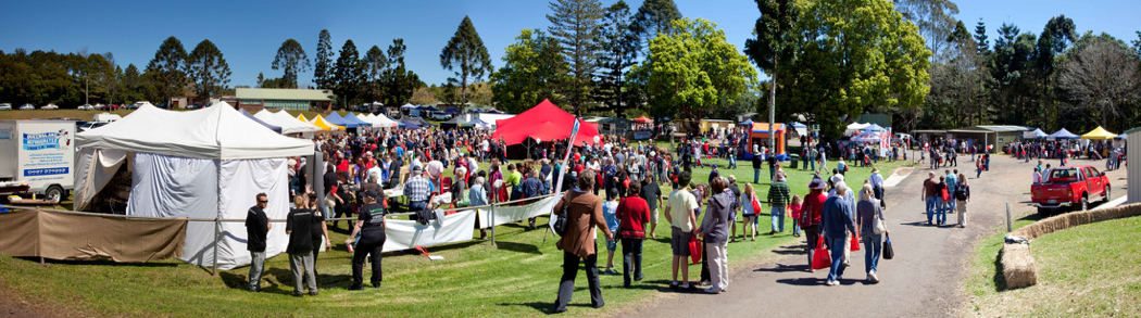 Sunshine Coast Real Food Festival, Maleny Showgrounds.
