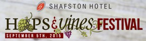 The Shafston Hotel Hops and Vines festival